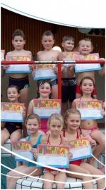 Leszwemmen kinderen en volwassenen